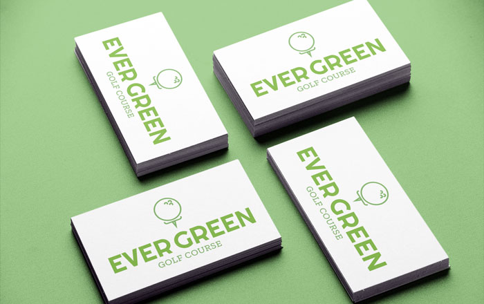 Green logos for businesses