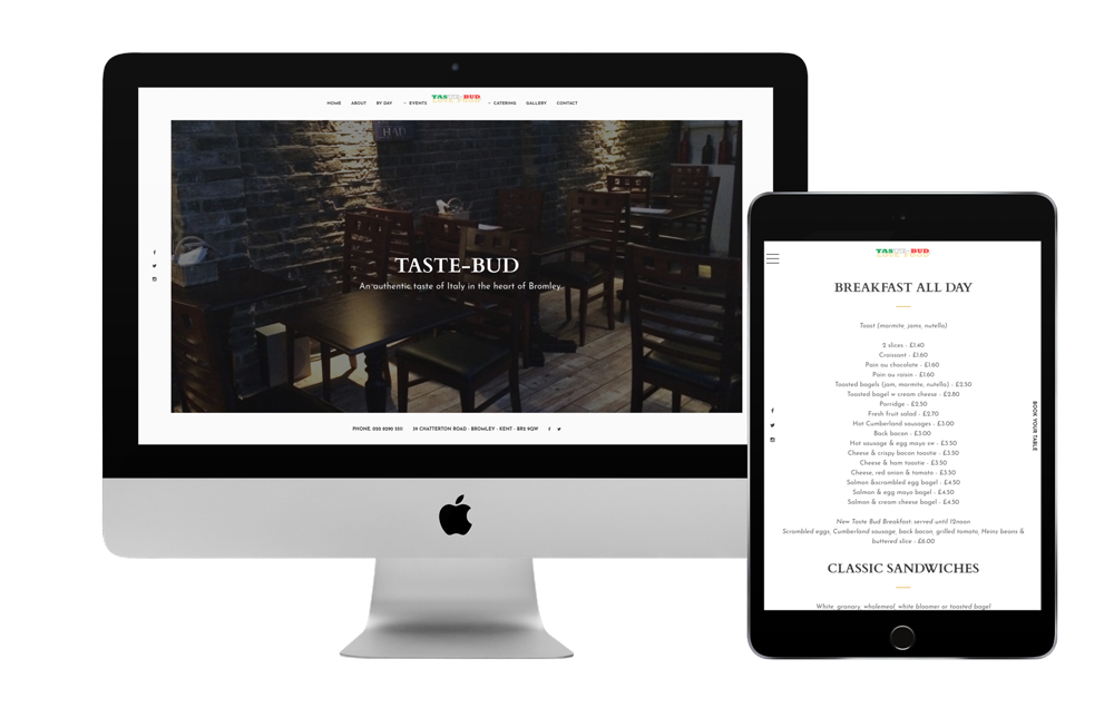 Coffee Shop Website Redesign Project for Taste-Bud